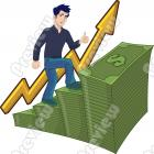 Success Graph Clip Art